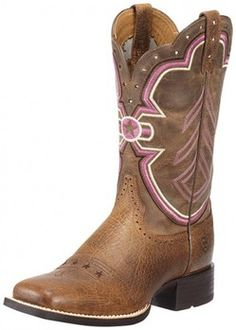 Let freedom Ring!  Ariat Ladies Cowgirl Boots Freedom Collection Earth Brown BootCity.com