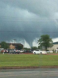 Tornados in my hometown.