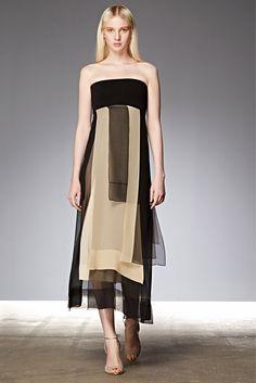 Donna Karan Resort 2015 Fashion Show - Nastya Sten