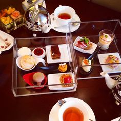 贅沢しました。 #インターコンチネンタルホテル大阪 #アフタヌーンティーセット