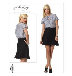 Vogue 1170 Rachel Comey Skirt & Top Pattern Size by PatternParlor, $12.95