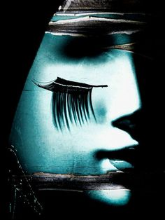 'Black eyelashes' von Gabi Hampe bei artflakes.com als Poster oder Kunstdruck $20.79