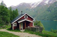 Ferienhaus - Fjærland, Norwegen  mein traumhaus..