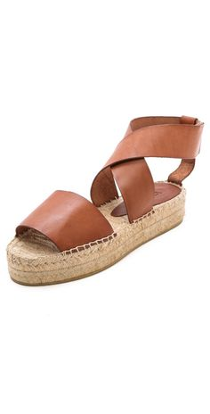 Vince Elise Espadrille Flat Sandals | 15% off first app purchase with code: 15FORYOU
