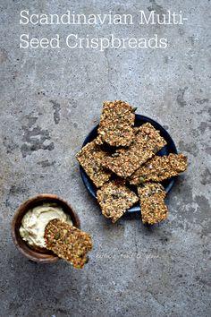 Scandinavian Multi-Seed Crispbread Recipe with A Fragrant Twist