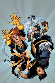 """"""" Ultimate X-Men By Stuart Immonen """" One of my favorite covers ever, simple and effective. Comic Book Characters, Marvel Characters, Comic Character, Comic Books Art, Book Art, Marvel Girls, Marvel Dc Comics, Marvel Avengers, X Men"""
