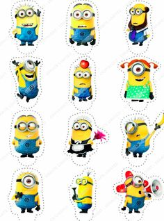 Cakeshop 12 x PRE-CUT Despicable Me Minions Stand Up Edible Cake Toppers ** Remarkable discounts available : Baking decorations Minions Birthday Theme, Minion Theme, Baby Boy 1st Birthday, Minion Party, Boy Birthday Parties, Minions Despicable Me, My Minion, Minion Template, Minion Classroom