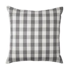"""SMÅNATE Cushion cover - IKEA $6 ea 20x20"""" kitchen bench or outdoor furniture mixed in with plain grey"""