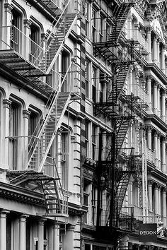 Black Stairs, White Stairs