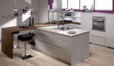 Nordsjøkjøkken - E45 - grå høyglans