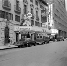 Broadway marquee City of Angels Virginia Theatre