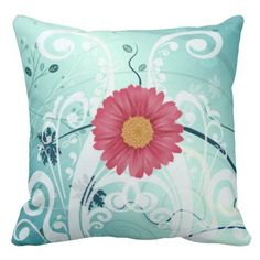 Shopping Purple Daisy Flowers Beautiful Design Pillow you will get best price offer lowest prices or diccount coupone