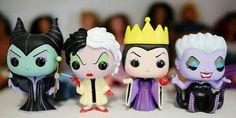 Vilãs da Disney ♥♥♥♥