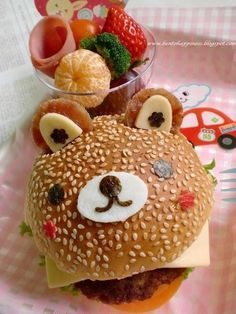 Bear burger