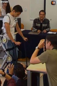 ❝ Personas con movilidad reducida se mueven con exoesqueletos [VÍDEO] ❞ ↪ Puedes verlo en: www.proZesa.com