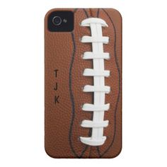 Football iPhone 4 Case Mate  $41.95   *15% Off All Orders - See More at this Gran Designer Store here:  From the Gran Designer Stores at http://www.zazzle.com/Case-Mate?rf=238707880014952440