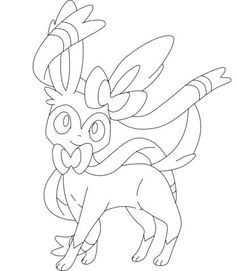 sylveon coloring page from generation vi pokemon category select from 28148 printable crafts of cartoons nature animals bible and many more