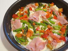 Omelete de Claras, Espargos e Fiambre Pasta Salad, Paleo, Healthy, Ethnic Recipes, Salads, Butter, Oatmeal Waffles, Salmon Salad, Fitness Tips