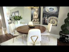 Interior Design — Luxurious & Glam Small Townhouse Makeover - YouTube