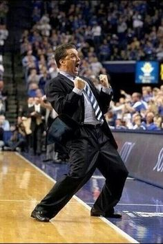 Pretty much my reaction after the Wichita game too. Gotta love Coach Cal! :)