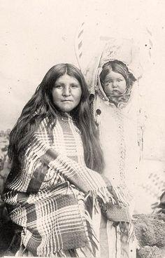 White River Ute mother. It was taken in 1916 by Harris & Ewing.