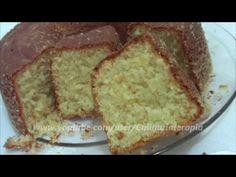 Receita de bolo de pão. Inédita!