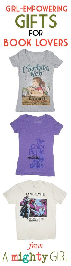 Literary-Themed Gifts for Mighty Girl Book Lovers of All Ages