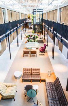 Lobby in Hotel De Hallen  vossy.com