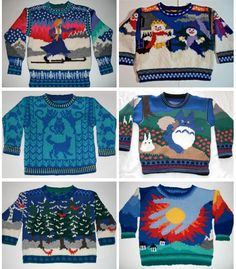 adorable sweaters from spain Cool Sweaters, Baby Sweaters, Ugly Sweater, Knitting For Kids, Baby Knitting, Intarsia Knitting, Baby Pullover, Baby Kind, Knitting Designs