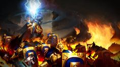 Stormcast Eternals, in Age of Sigmar, par Games Workshop Warhammer Fantasy, Warhammer 40k, Stormcast Eternals, Age Of Sigmar, Bioshock, Gw, Fantasy Artwork, Elves, The Darkest
