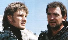 Sharpe and Sgt. Harper. Good BBC series - but the books are better!