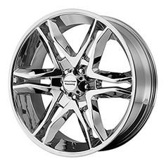 American Racing AR893 Mainline Chrome Machined Wheel 18x856x135mm 30mm offset *** Check this awesome product by going to the link at the image.