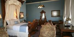 The Galveston Room at the Ant Street Inn Bed & Breakfast in Brenham, Texas!