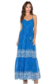Love Sam Avery Maxi Dress in Ocean Combo