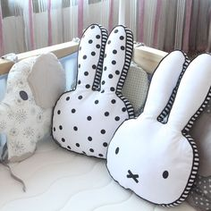 Baby Pillow Rabbit Shape Sleep Cushion Pillows For Kids Baby Room Decoration Infant Bunny Pillow Boys Girls Photoprops Gifts