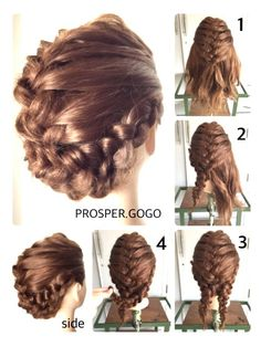 Love this hair style.so cute and super easy