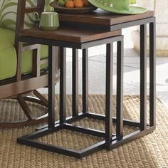 Ocean Club Pacifica Nesting Table With Images Nesting Tables