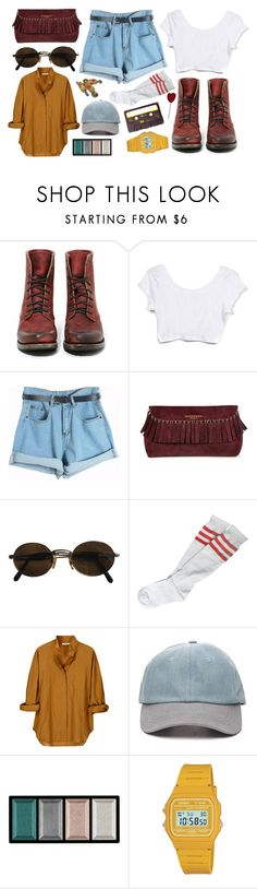 """""""The long run"""" by sagittariusa ❤ liked on Polyvore featuring Freebird, Chicnova Fashion, Burberry, Moschino, Vanessa Bruno, Forever 21, Clé de Peau Beauté, Casio, vintage and women's clothing"""