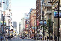 , north of Queen St, Downtown Toronto, Times Square, Street View, Queen, Travel, Viajes, Destinations, Traveling, Trips