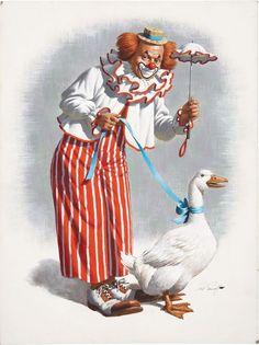 Clown de Arthur Sarnoff