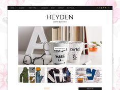 WordPress Theme Responsive - Heyden @creativework247