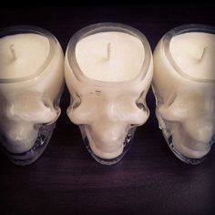 Skull candles from: www.elixiroflight.com.au