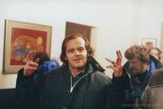 "Jack Nicholson Behind the scenes. From ""The Shining"" Jack Nicholson The Shining, Stanley Kubrick The Shining, Doctor Sleep, Little Bit, Scene Photo, Film Stills, Classic Hollywood, I Movie, Thriller"