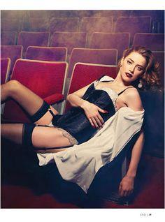 magazine-photoshoot : Amber Heard HQ Pictures Esquire Mexico Magazine Photoshoot February 2014