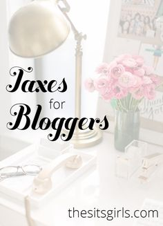 Everything you need to know about tax deductions for bloggers. blogging tips ideas #blogging #resources