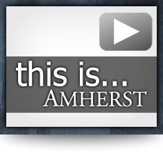 This is Amherst Video Shortcut Design by: testamentdesign.com
