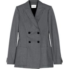 Pallas Junon Pinstriped Double-Breasted Wool Blazer as seen on Beyonce Knowles