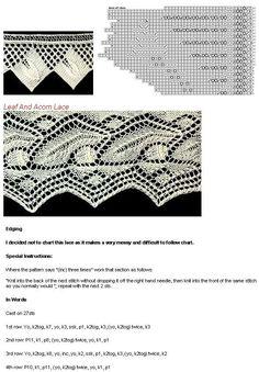 Stylowi.pl - Odkrywaj, kolekcjonuj, kupuj Lace Knitting Patterns, Knitting Stitches, Free Knitting, Knitting Charts, Circular Needles, Pattern Library, Fashion Sewing, Knit Crochet, How To Make