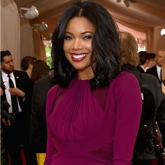 If I were to pinpoint the exact moment I fell in love with Gabrielle Union's hair, I would take it back to...