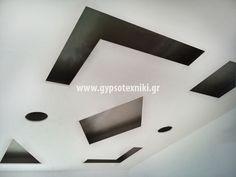 Γεωμετρικά σχέδια  οροφής σε οικία στην Ραφήνα. Cube